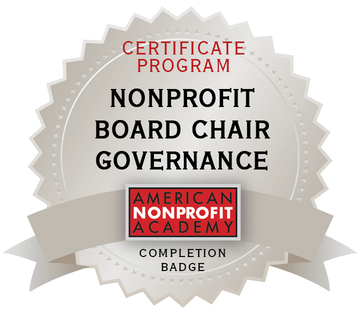 Nonprofit Certificate Program Information Link